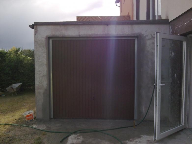 Budowa garażu w miejscowości Kamień Duży koło Iławy