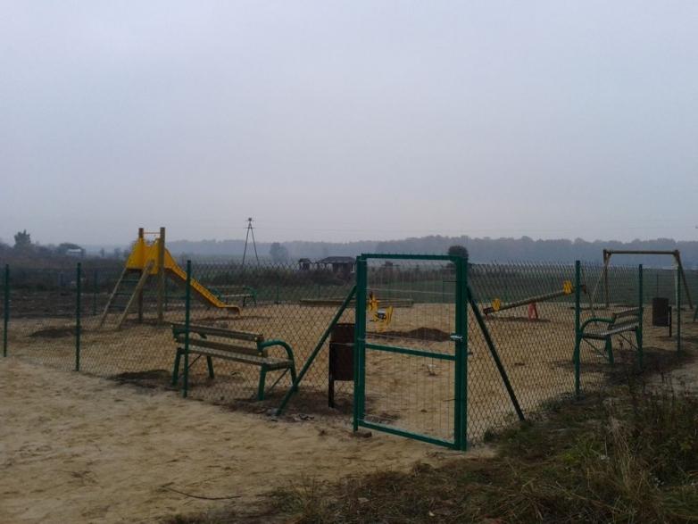 Budowa placu zabaw w Nowym Folwarku gmina Kisielice