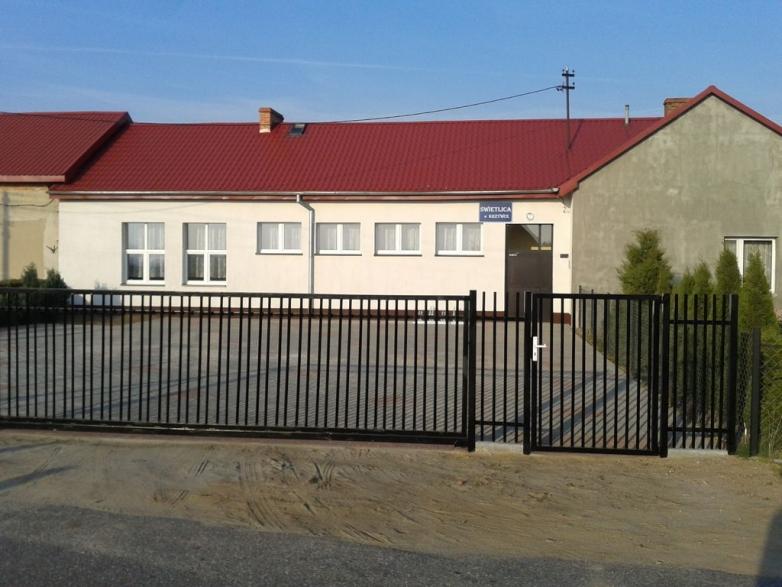 Modernizacja świetlicy wiejskiej w Krzywce gmina Kisielice