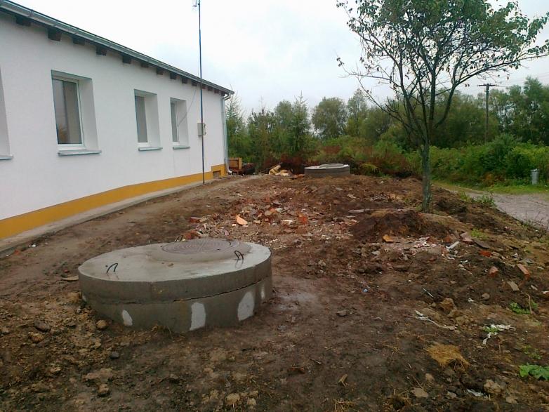 Remont budynku komunalnego w Pławtach Wielkich gmina Kisielice
