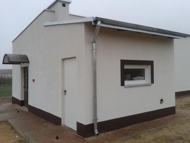 Budowa świetlicy wiejskiej w Kantowie gmina Kisielice