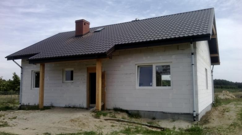 Budowa domu jednorodzinnego w miejscowości Rakowiec