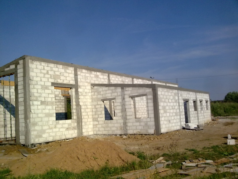 Budowa stacji diagnostycznej w Łasinie