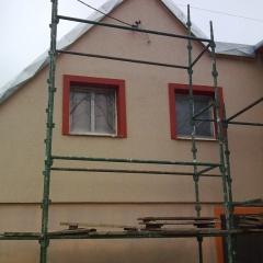 Elewacja domku jednorodzinnego w Prabutach