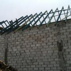 Budowa magazynu zbożowego w Butowie