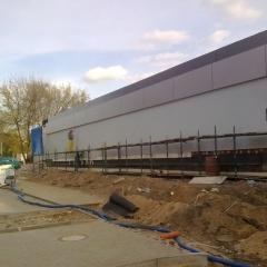 Elewacja basenu w Iławie